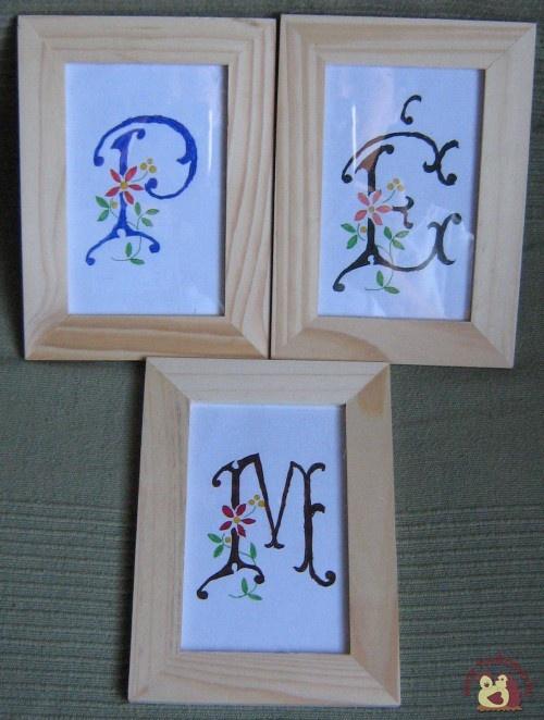 Monogram képek - Pedagógusnap