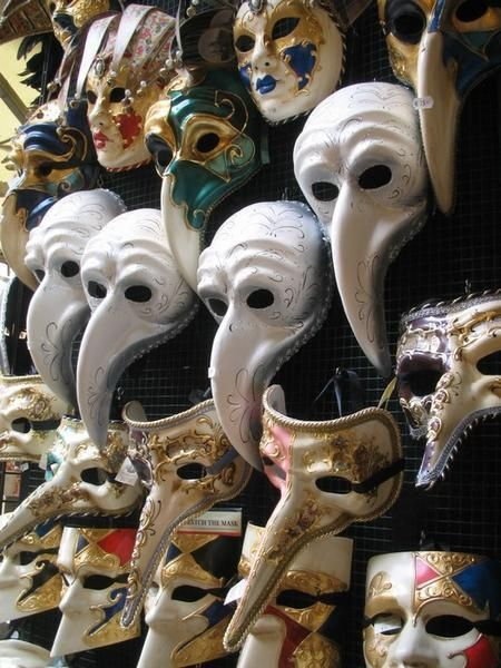 traditional venetian masks