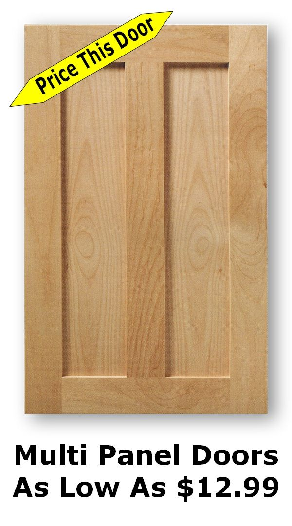 Unfinished Shaker Cabinet Doors As Low As 8 99 Shaker Cabinet