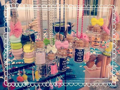 Secondo giorno di Sagra del Pesce, nonché Festa della Mamma :) ...noi siamo prontissimi, e voi? Vi aspettiamo!   #artisticamentejokera #handmade #bijoux #polymerclay #jewelry #italiancrafters #camogli #sagradelpesce #streetmarket #fimo