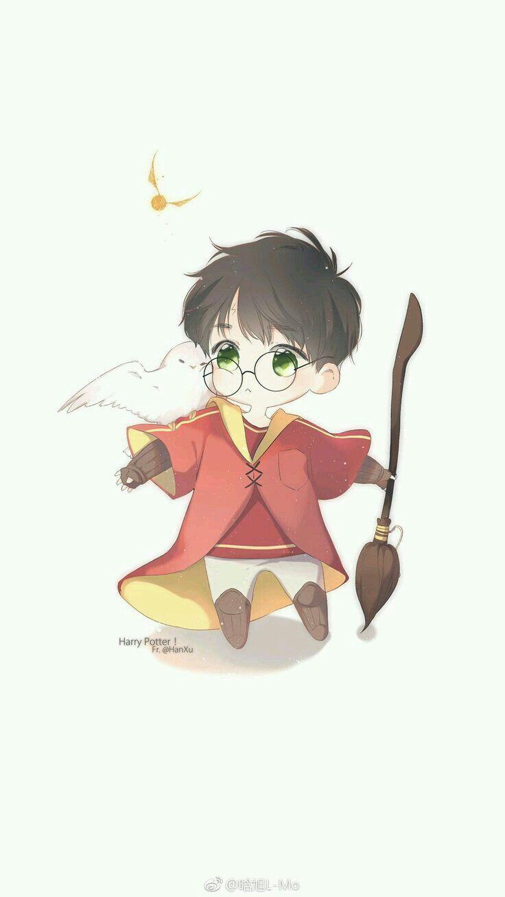 Pin De Jp Em ưu đai Khủng Harry Potter Anime Arte Do Harry
