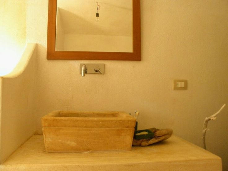 Bathroom trullo