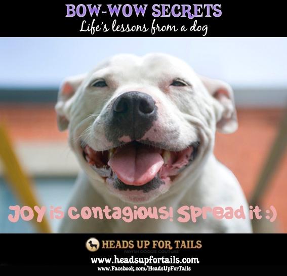 Joy is contagious- spread it!