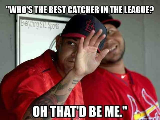 Yadier Molina--I agree!