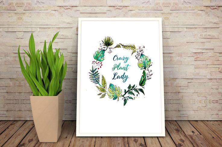 Behance :: Editing Crazy Plant Lady
