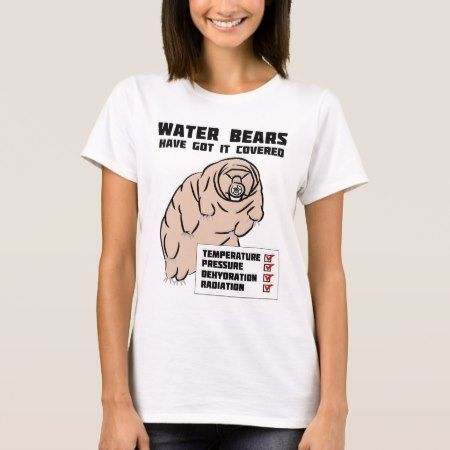 Water Bears T-Shirt - tap to personalize and get yours