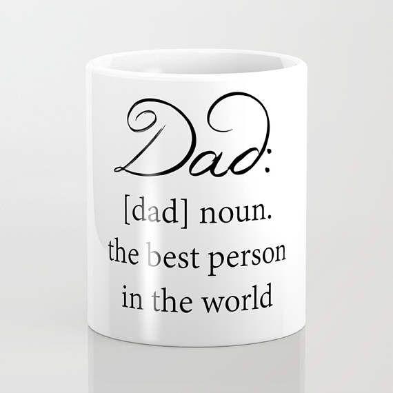 Dad Coffee Mug  Dad Definition  Fathers Day  Dad Gift  11