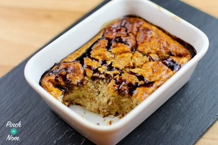 Low Syn Chocolate and Orange Baked Oats | Slimming World - http://pinchofnom.com/recipes/low-syn-chocolate-and-orange-baked-oats-slimming-world/