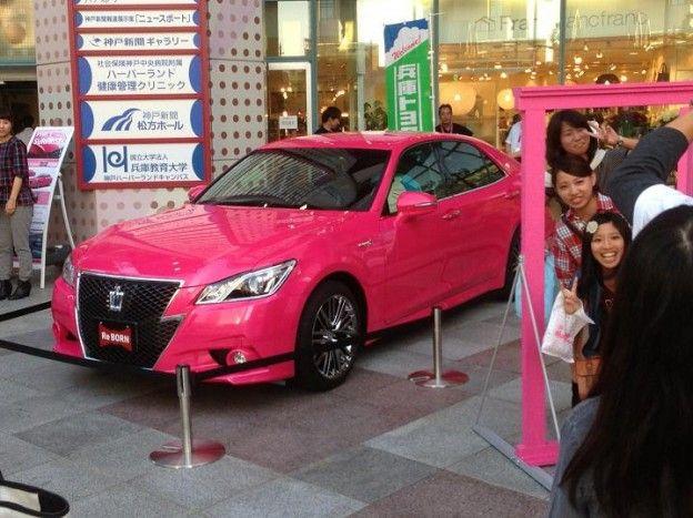 Pink Toyota Crown