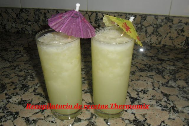 Recopilatorio de recetas : Granizado de limón en thermomix