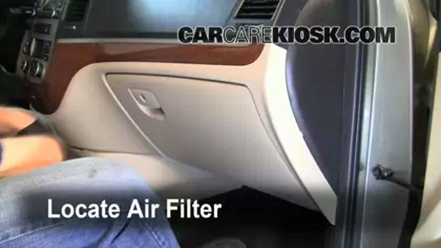 Cabin Filter Replacement: 2007-2012 Hyundai Santa Fe - 2009 Hyundai Santa Fe Limited 3.3L V6