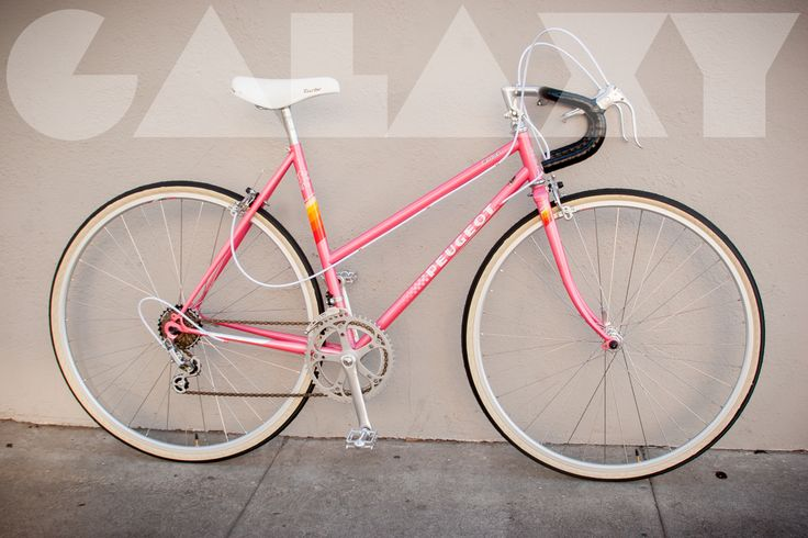 Vintage 1980's PEUGEOT 50cm Ladies Road Bike // PINK!!!