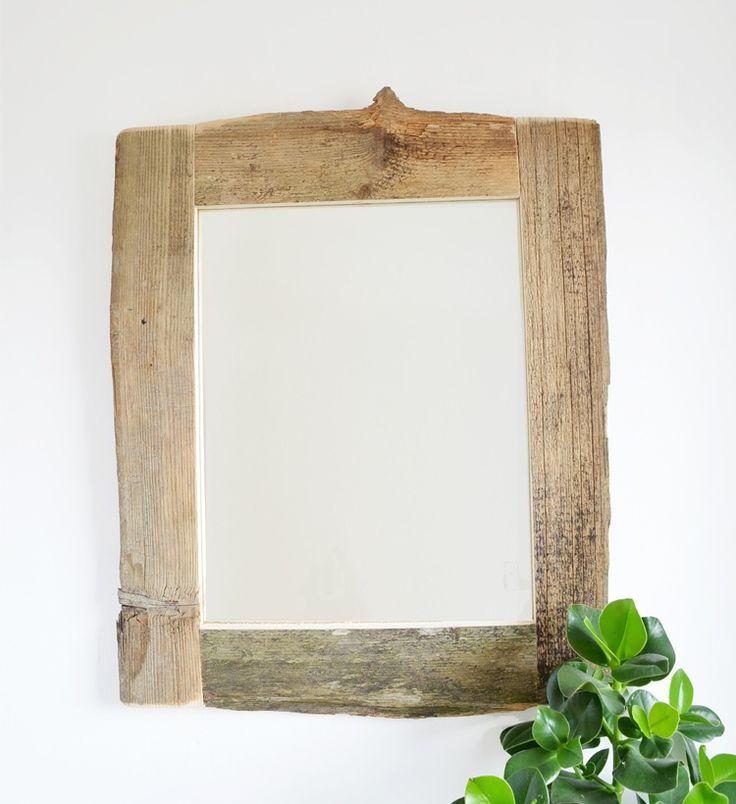 Spiegel mit Holzrahmen selber bauen. Selber machen. DIY. Do it yourself Spiegel