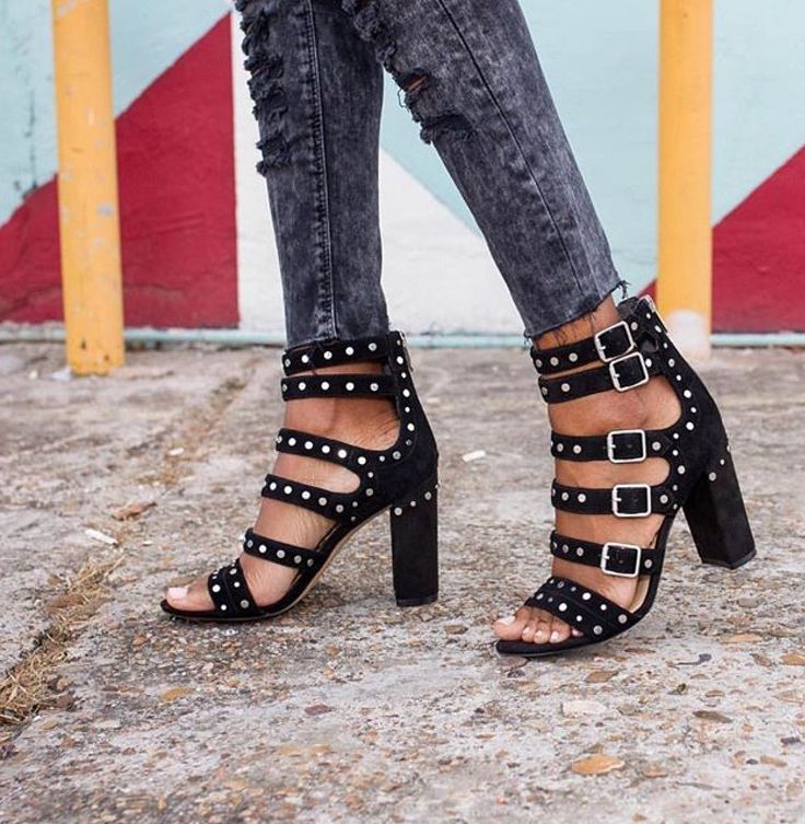 Looking for a pair of edgy heels? These Sam Edelman heels are a must! Plus they are on sale! See the Style Deal by clicking!