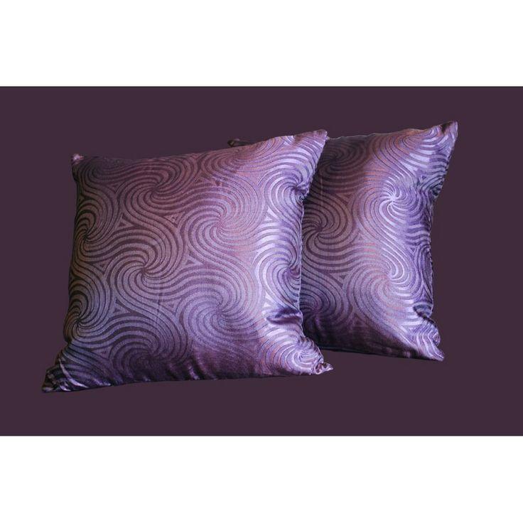 Amethyst Vortex Cushion Covers(1 x set)