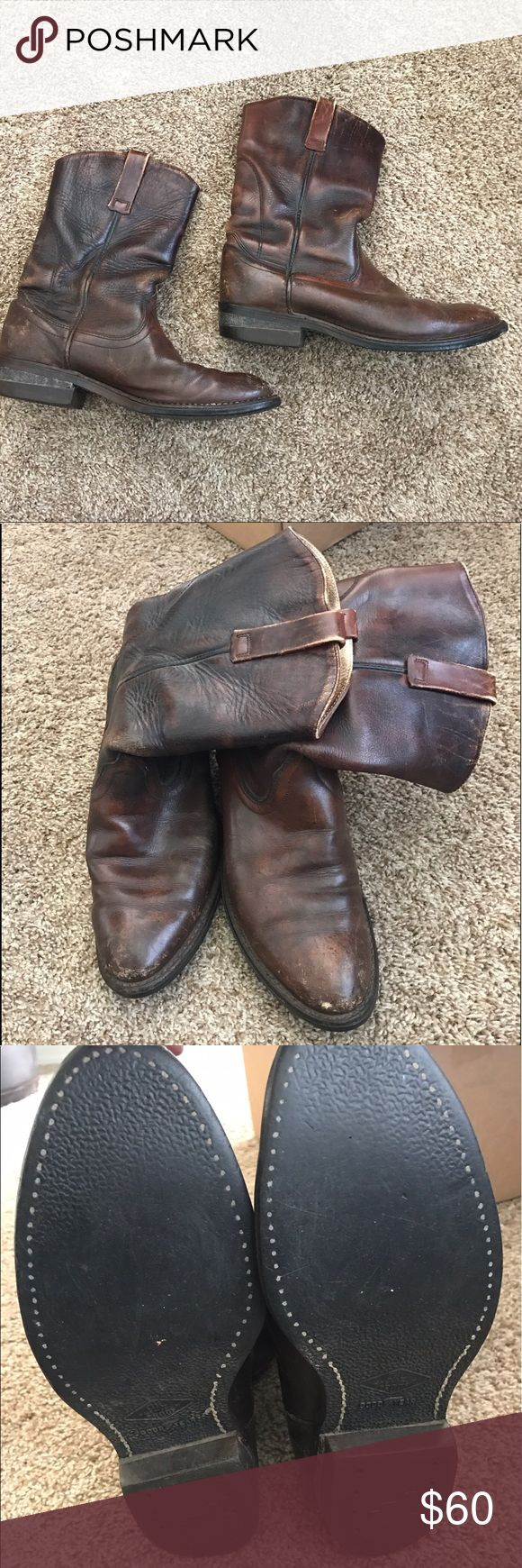 Red Wing boots⚡️QUICK SALE⚡️ Men's Red Wing western cowboy boots. Size 8.5. I believe they are Peco's. Good used condition. Red Wing Shoes Shoes Boots