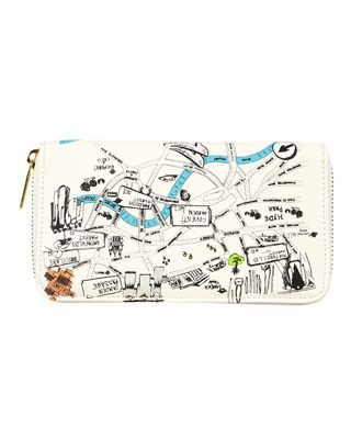 A quirky London map wallet, I like.