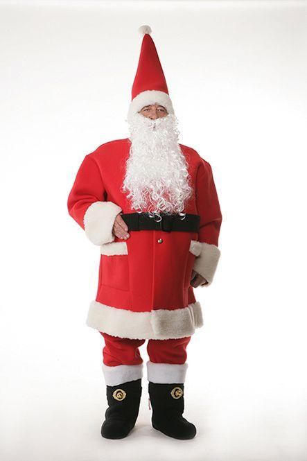 Święty Mikołaj z bardzo ciepły. Strój Mikołaja, Santa Claus www.olga.com.pl