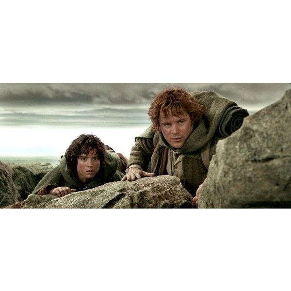 Samwise Gamgee ❤ liked on Polyvore featuring lord of the rings, lotr and tolkien