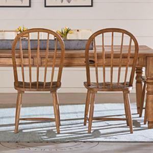 Primitive Windsor Hoop Chair In Bench