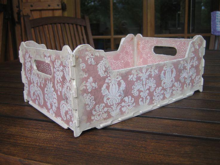 Caja de frutas vintage cajas de fruta decoradas pinterest - Cajas de fruta decoradas ...