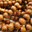 Bayong 6mm Round Wood Beads