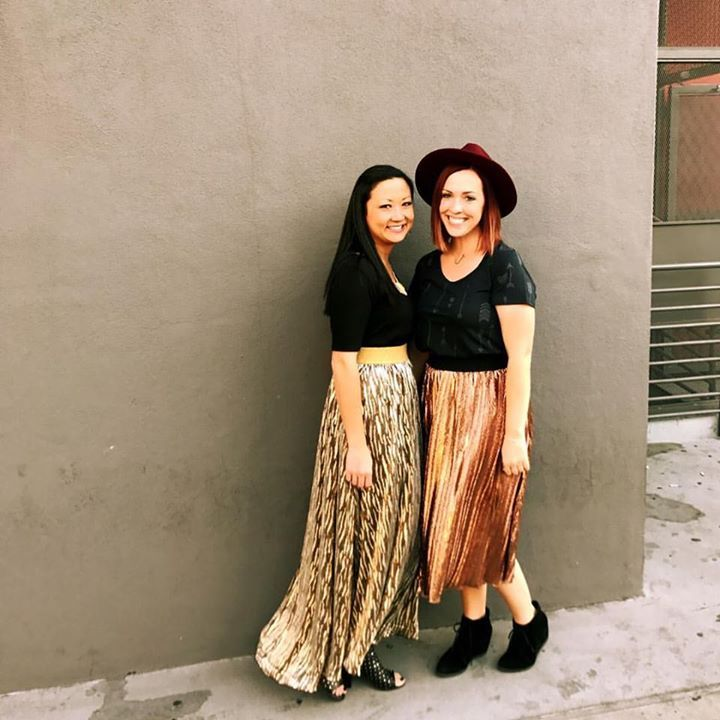 You guys. I'm LITERALLY dying over this elegant collection stuff!!! I'll be posting it all the week after Thanksgiving when I get home!! My bff @lularoesarahmarshall and I couldn't wait to wear it, so we got dressed up to go out and about!! We felt like princesses and got alllllllllllll the compliments!!!  I'm literally having the hardest time not keeping EVERYTHING!!! You guys, get soooooo excited to shop these items!!!!  #lularoe #lularoeelegant #lularoelucy #lularoejill Folow…