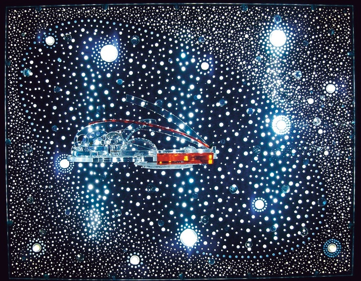 Abstract and visionary artist Gyula Kosice, one of the pioneers of Lumino Kinetic Art.  http://mappeditions.com/publications/gyula-kosice-in-conversation-with-gabriel-perez-barreiro