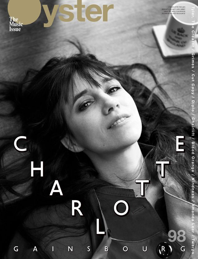 oystermag:    Oyster #98: Charlotte Gainsbourg  Hermès jacket and shirt
