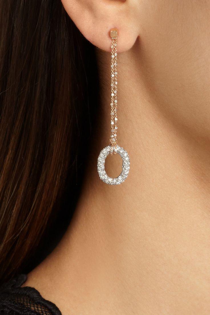 Carolina Bucci|18-karat gold diamond earrings…