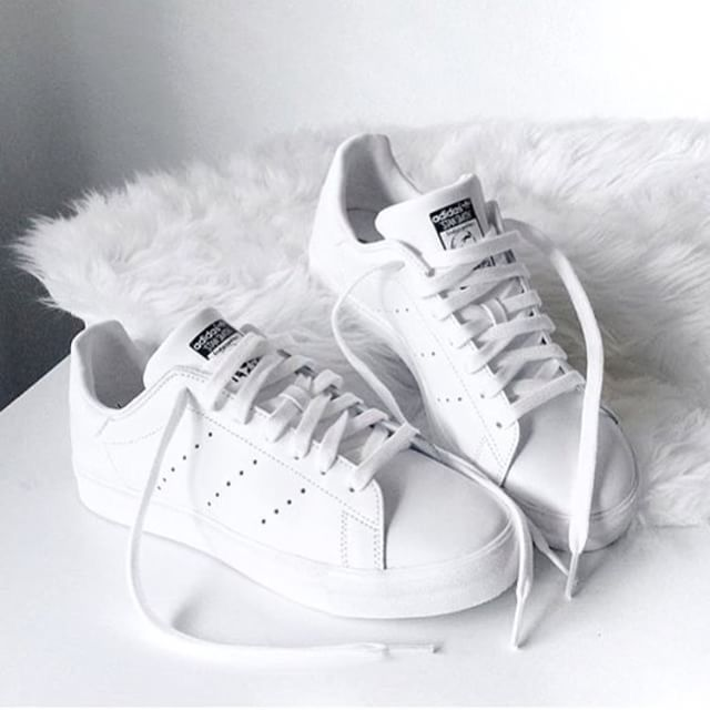 Adidas Shoes All White