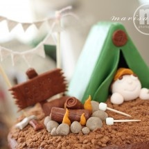 Boy Scout Cake Idea