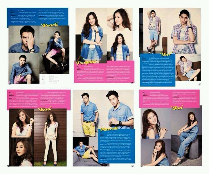 Some of the main characters from #HormonesTheSeries #Win #Toei #Phai #Sprite #Phoo #Dow
