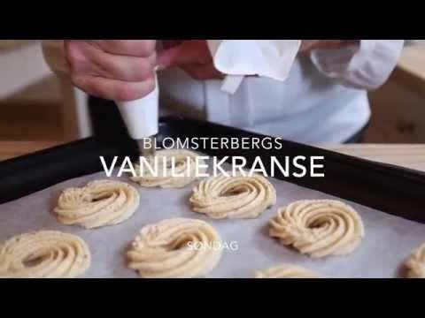 Lav vaniljekranse med Mette Blomsterberg | SØNDAG