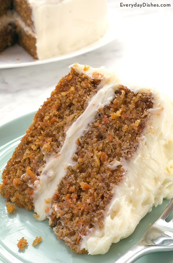 Practically everyone has a carrot cake recipe that they think is the best, but after just one bite of our extra moist carrot cake recipe we think you'll reconsider!