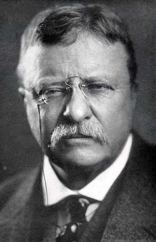 My main man Teddy. When presidents were presidents, there were Bull Mooses like this. Teddy Roosevelt # 26 Rock on Teddy, rock on!