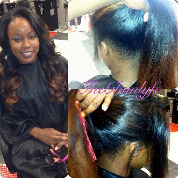 90 best weave techniques images on pinterest hairstyles short sewinweave pmusecretfo Image collections