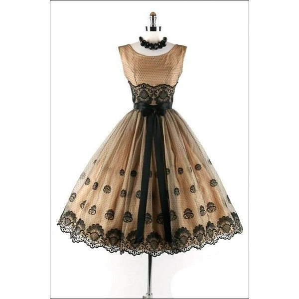 The Oh So Important Dress Update and More Vintage Fashion Eye Candy! ❤ liked on Polyvore featuring dresses, short dresses, vestido, vintage dresses, brown vintage dress, vintage mini dress, short brown dress and brown mini dress