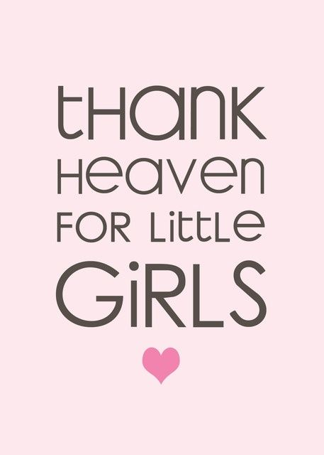 Amen! Love my baby girl!