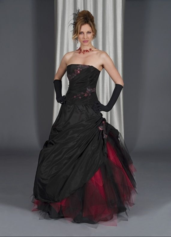 wedding dresses goth wedding dresses black and red wedding dresses