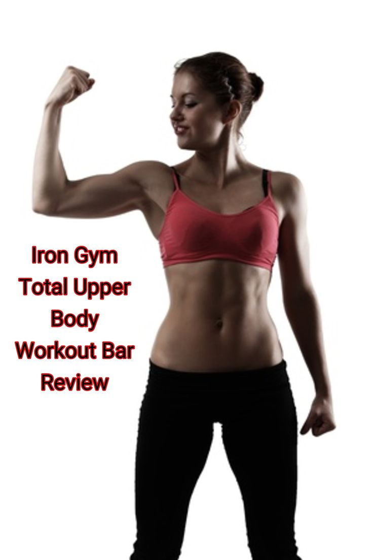 If you're looking for a sure-fire way to sculpt your entire upper body and abs, check out the Iron Gym Total Upper Body Workout Bar.  It's compact, inexpensive and it gets results.  Click the link to the right to read a review: http://www.bestwomensworkoutreviews.com/iron-gym-total-upper-body-workout-bar-review