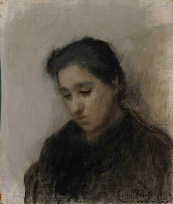 17 Best images about Ellen Thesleff Finland on Pinterest | Drawing school, Self portraits and Violin