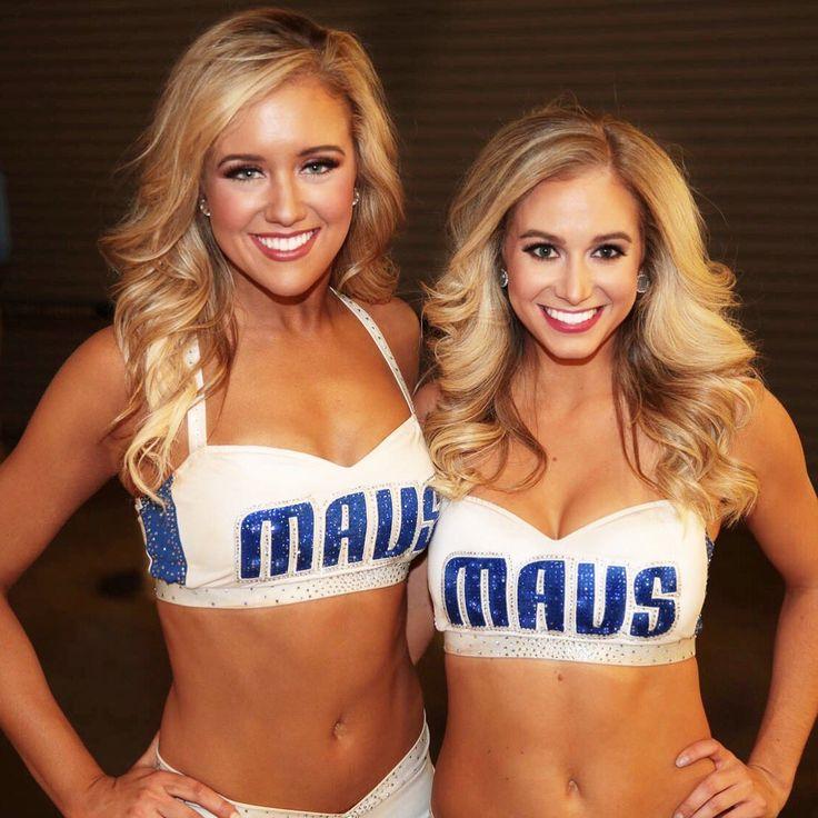 Tori & Sheridan - Dallas Mavericks Cheerleaders