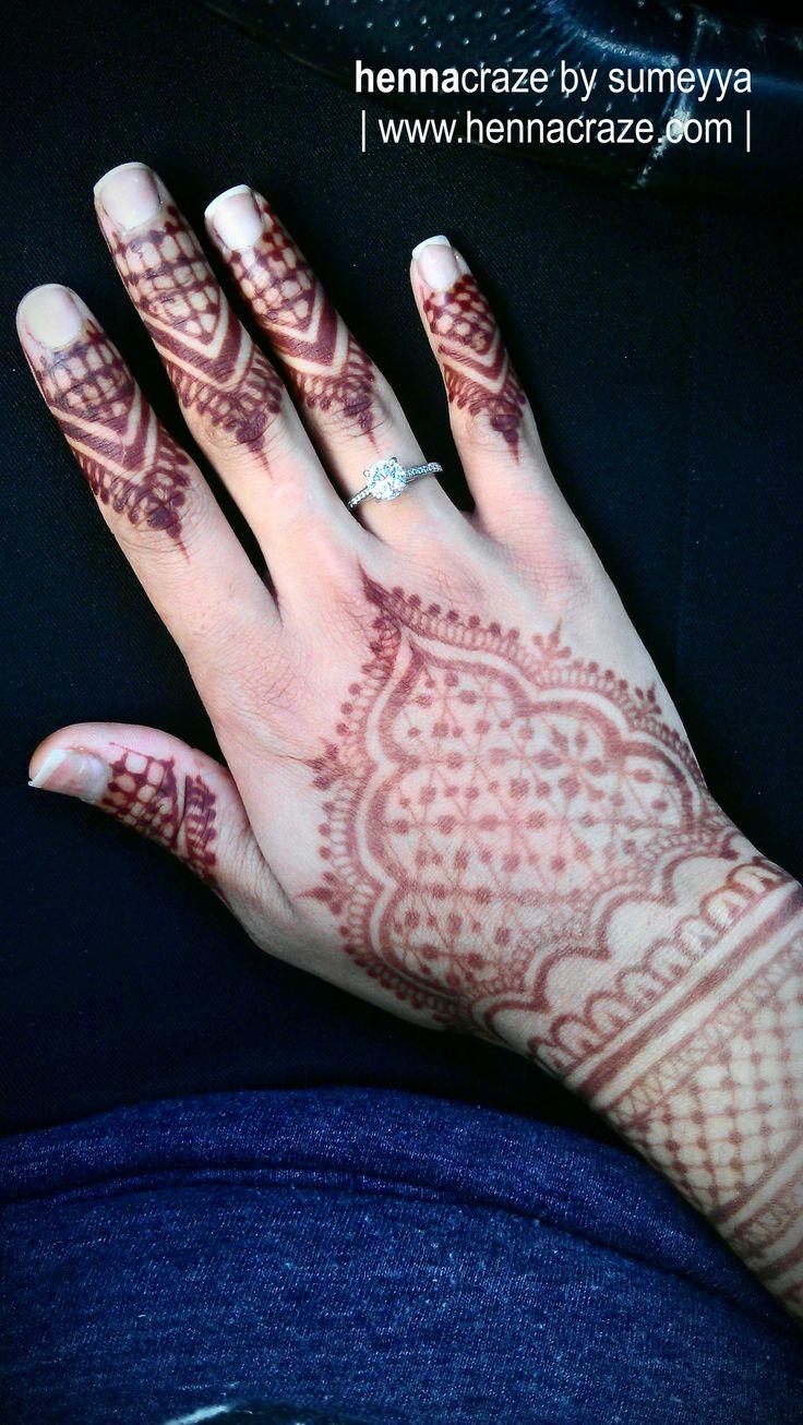 Gorgeous henna stain. :)