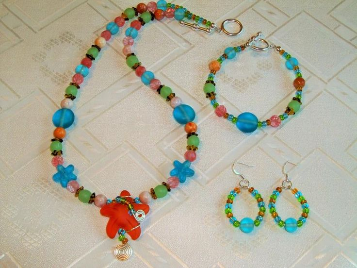 Beach Candy! - Jewelry creation by Chris Donofrio
