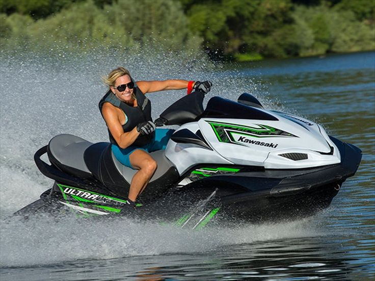 How I miss my Sea Doo jet ski! Will be getting a Kawasaki as soon as my son is old enough to enjoy them with me :)