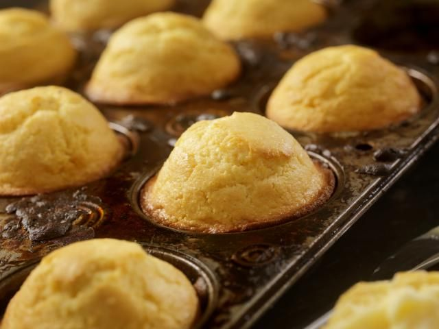 Try this easy, delicious cornbread muffin recipe. A touch of honey, butter, and sour cream add to the richness and moisture in these tasty cornbread muffins.