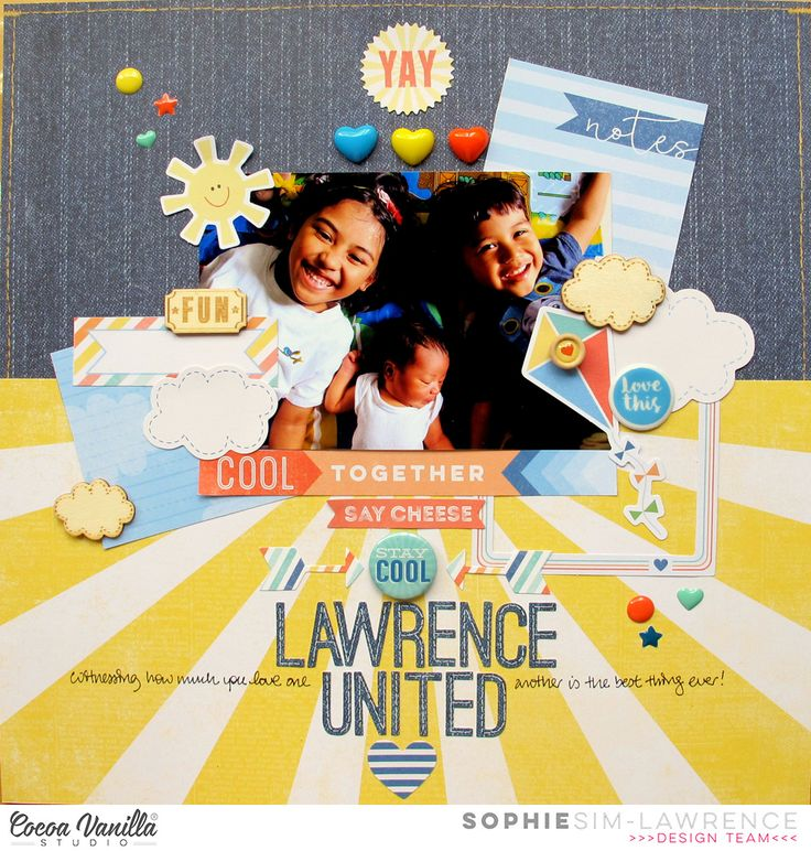 Lawrence United | Hello Sunshine | Sophie Sim-Lawrence | Cocoa Vanilla Studio