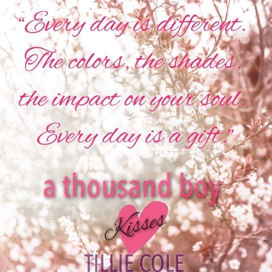 A Thousand Boy Kisses by Tillie Cole #1000BOYKISSES #PoppyAndRune #YATearjerker #TILLIECOLEBOOKS