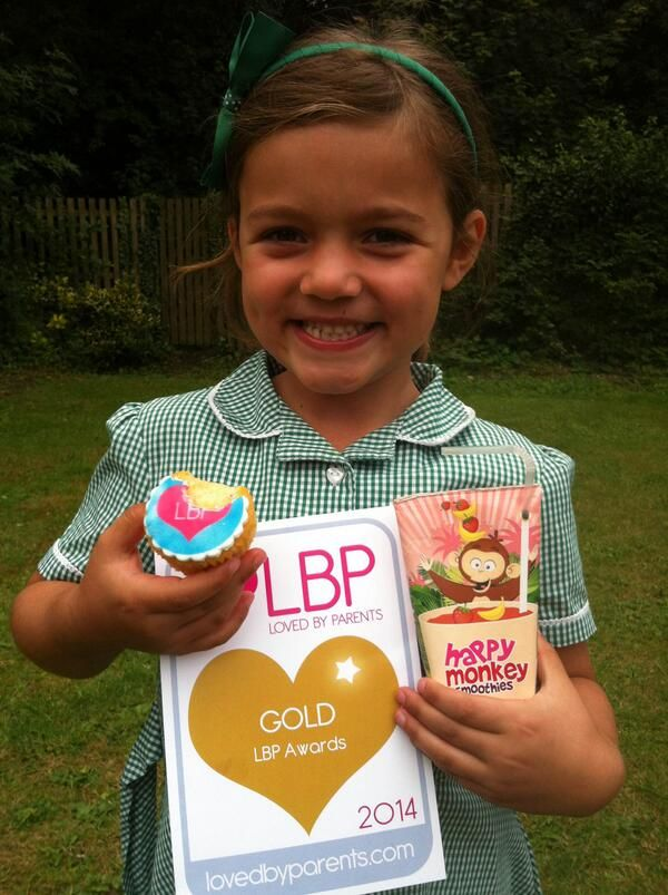 A very happy monkey! Gold win for Happy Monkey Smoothies!!